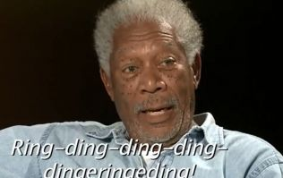 Video: Morgan Freeman delivers a dramatic reading of 'What does the Fox say?'