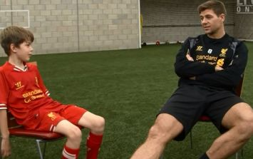 Video: Ten-year old Liverpool fan's interview with Steven Gerrard is just great