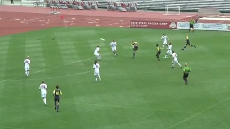 Video: Michigan University player does the most fitting Thierry Henry impression possible
