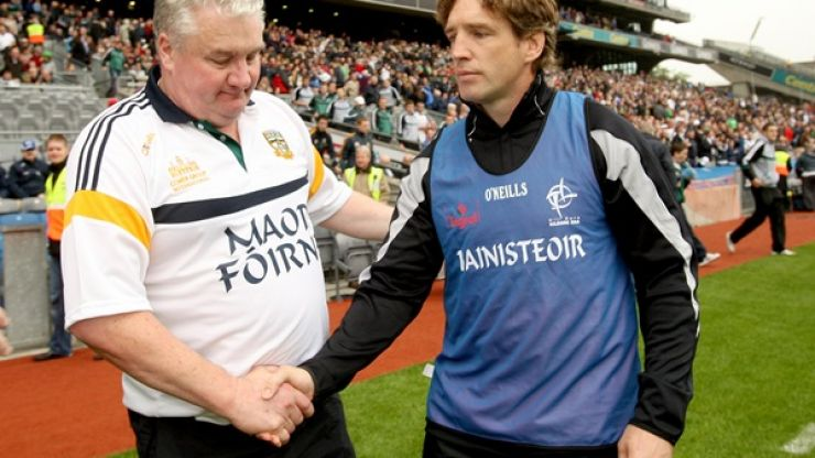 Geezer goes back to Armagh… as part of Paul Grimley's backroom team
