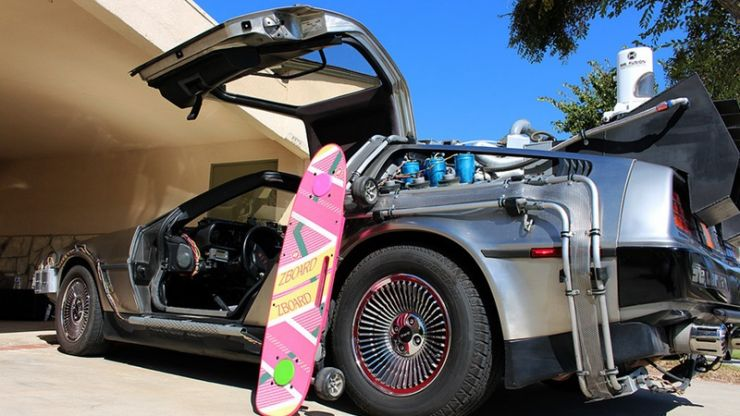 Video: You can buy the hoverboard from Back To The Future