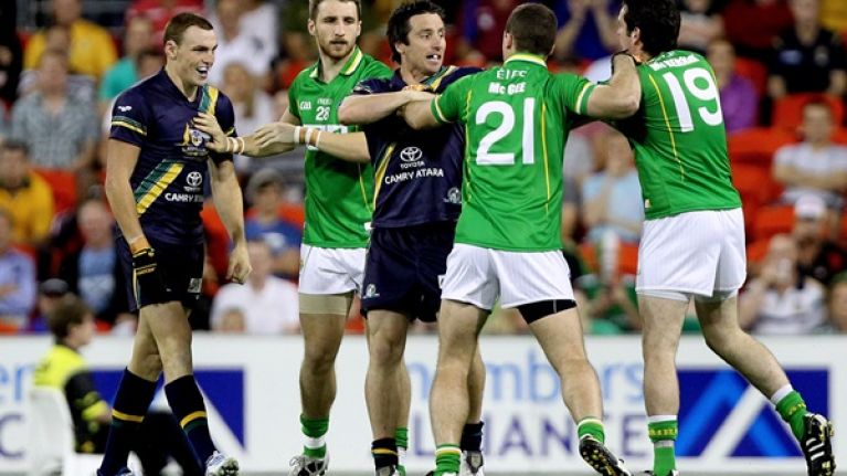 Burning Issue: Should we care more about the International Rules series?