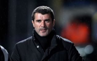 Pic: Class act Roy Keane pops in to visit Gary O'Neill as he continues fight against cancer