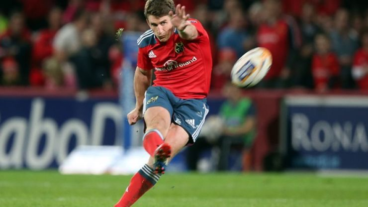 Vine: The swerve on Ian Keatley's conversion for Munster against Connacht is just incredible