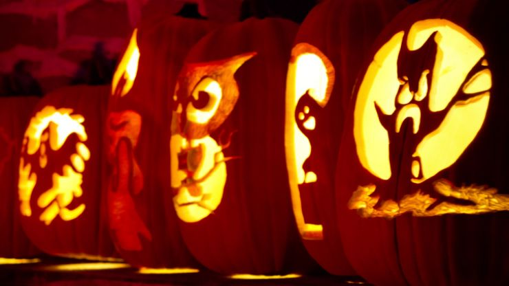Pumpkin carving joe is the voice of irish people at home and abroad
