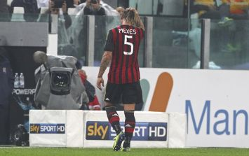 Video: Philippe Mexes banned for four games for this punch on Chiellini
