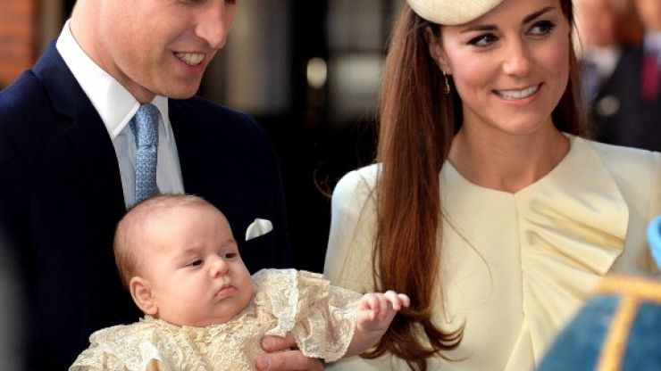 The best coverage of the Royal Baby Christening by a mile is in today's Independent