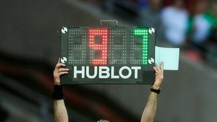 The greatest substitution of all-time took place in Brazil