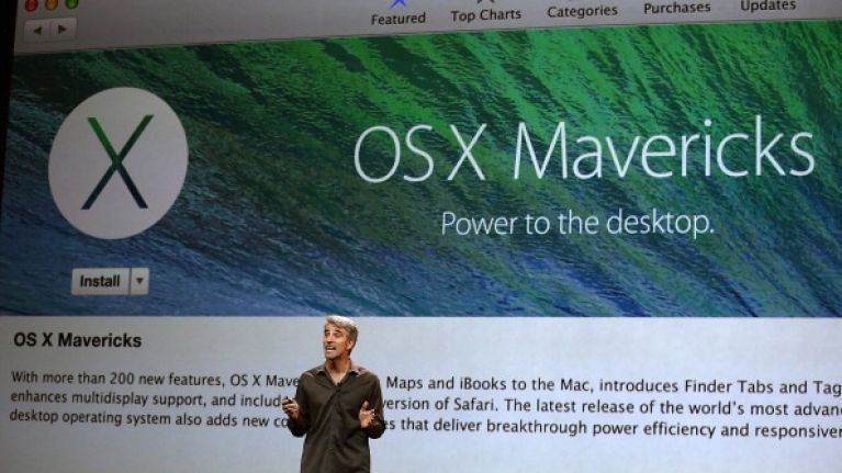 Apple's latest event proves that they really are a bunch of Mavericks