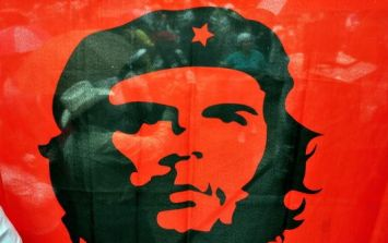 Pic: This Brazilian team's shirt with Che Guevara's face on it is pretty cool