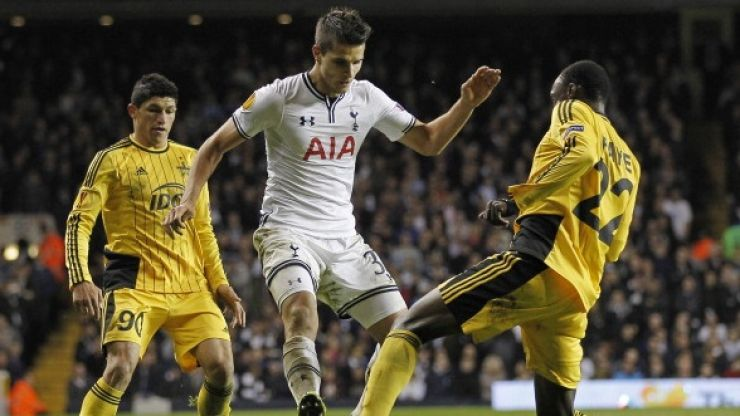 Vine: Erik Lamela's goal for Tottenham is simply out of this world