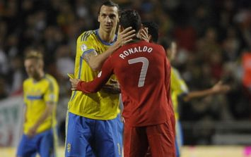 Zlatan confirms that he wasn't applauding Ronnie, he was encouraging his team-mates