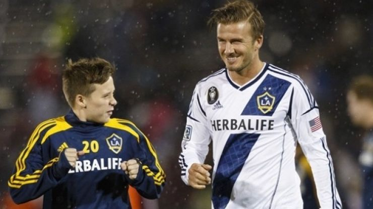 Like father, like son? Brooklyn Beckham handed chance to impress at Man United