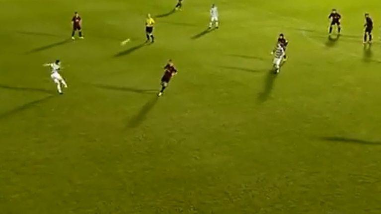 Video: Celtic under-19 player scores cracking 40-yard lob against AC Milan under-19s