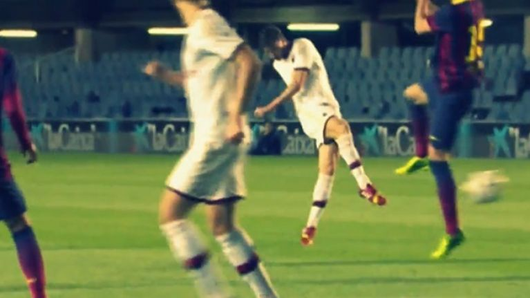 Video: The game between Barcelona and AC Milan's youth teams looked epic