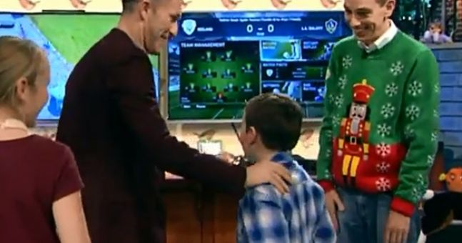 Video: Robbie Keane meeting awestruck young fan Domhnall was the highlight of the Late Late Toy Show last night