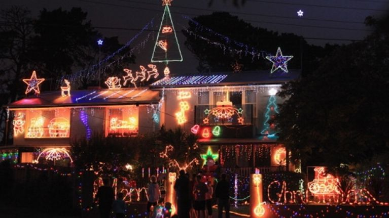 Video: World record for most Christmas lights broken spectacularly in Australia