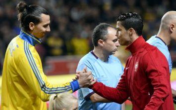 Pic: Ronaldo was that good last night, even Zlatan felt the need to applaud