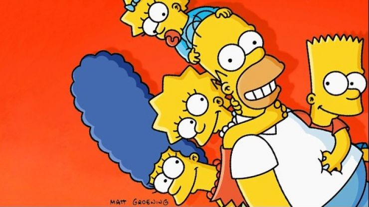 Pic: The Simpsons version of the Oscars selfie is the best yet