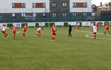 Video: Scottish youth team player scores brilliant goal after almighty goalmouth scramble