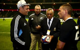 Picture: Dan Carter's boots for his 100th cap are pretty special