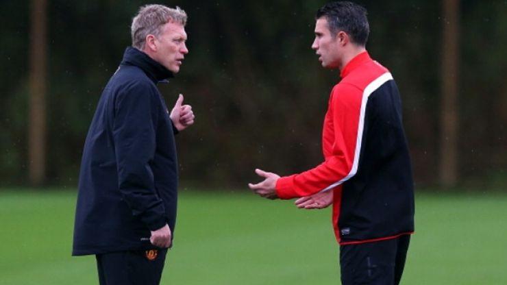 Mark Lawrenson tells Matt Cooper that Robin Van Persie wants out of Old Trafford