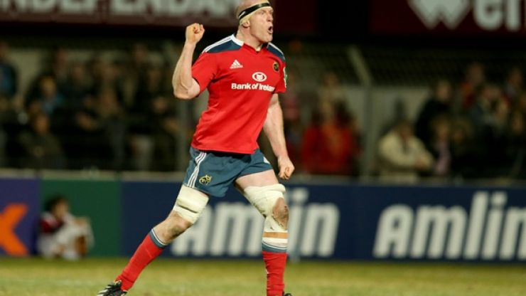 Breaking News: Paul O'Connell signs new IRFU contract
