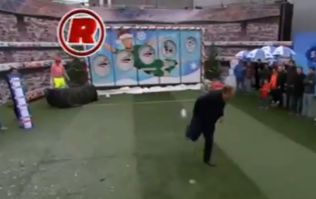 Video: Neil Ruddock was rolling back the years with this brilliant backheel goal on Soccer AM today