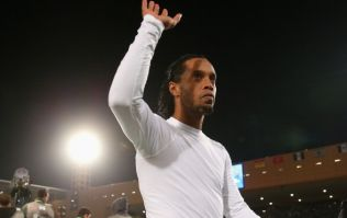Video: Feast your eyes on this stunning free-kick Ronaldinho scored last night