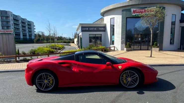 This Irish raffle is giving you the chance to win a €250,000 Ferrari