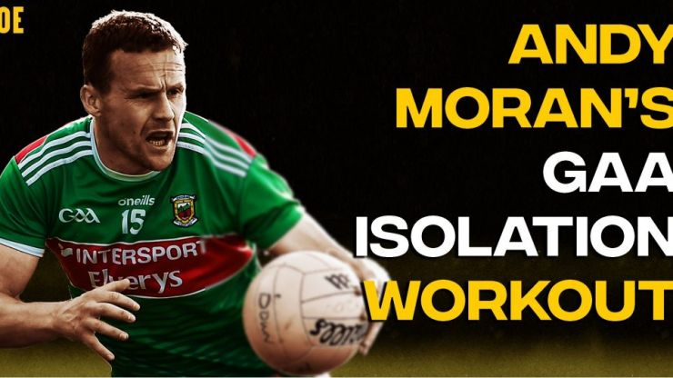 The Andy Moran GAA Isolation Workout