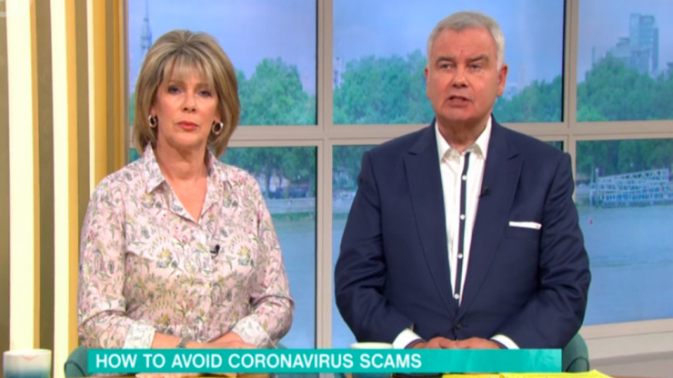 Eamonn Holmes receives over 400 complaints over coronavirus 5G conspiracy comments