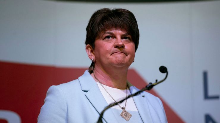Arlene Foster steps down as leader of Democratic Unionist Party