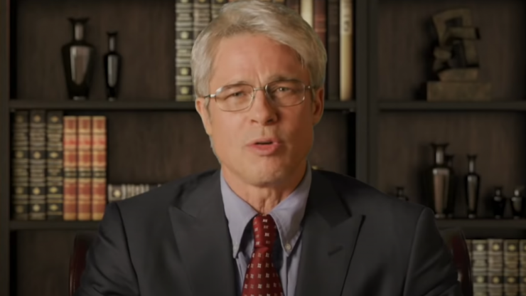 Brad Pitt analyses Trump's Covid-19 comments as Dr. Anthony Fauci in SNL cold open