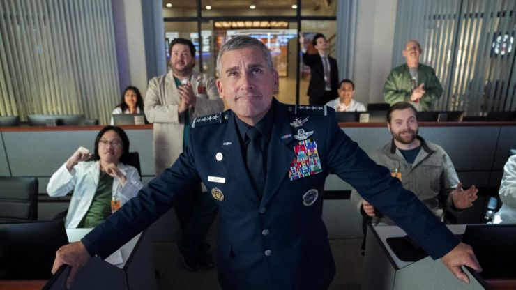 Steve Carrell's new Netflix show Space Force is worth watching for the cast alone