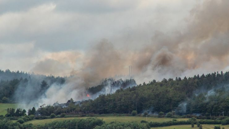 Status Red fire warning issued due to extreme forest fire risk over Bank Holiday weekend