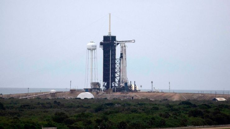 SpaceX's manned rocket launch this evening will be visible over Ireland