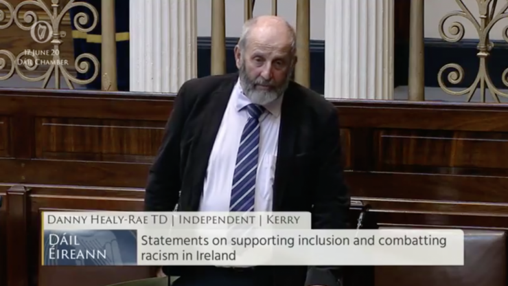 Healy-Rae objected to emergency Direct Provision centre, as Kerry hotels were needed for Kerry people