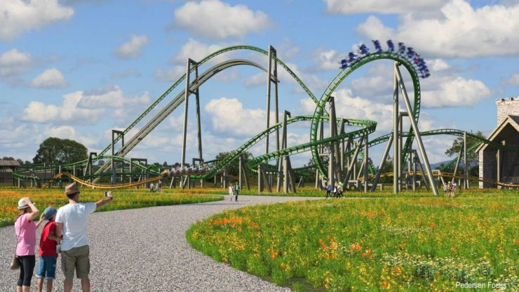 Tayto Park announces approval for two new steel rollercoasters