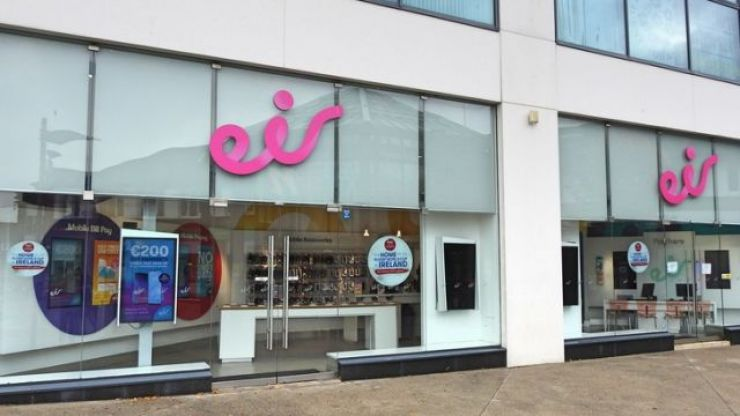 """Eir experiencing issues with data and network """"in all areas"""""""