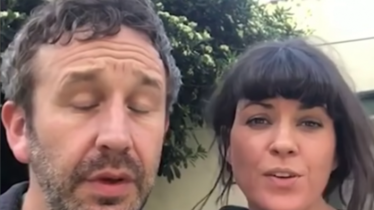 Chris O'Dowd discusses infamous celebrity 'Imagine' video from beginning of lockdown
