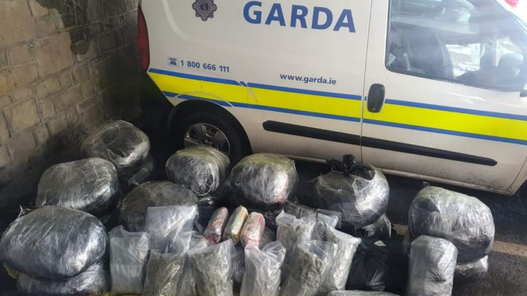 €3.9 million worth of cannabis seized in Laois