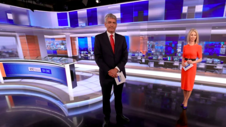 David McCullagh named new co-presenter of RTÉ Six One News