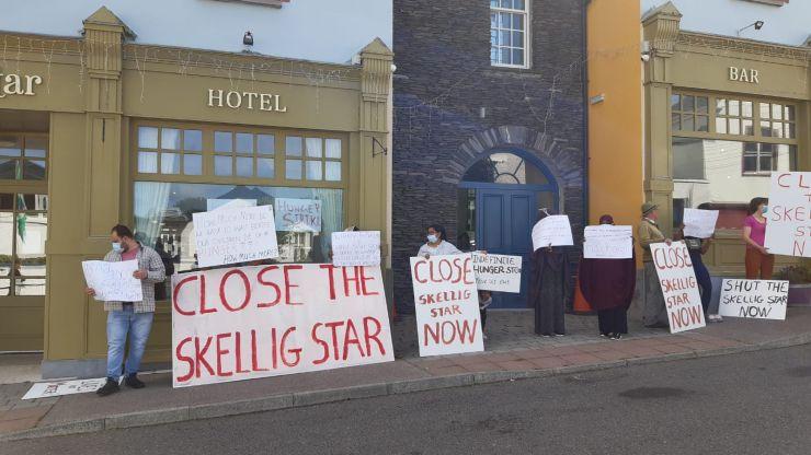 Hunger strike at Skellig Star Hotel Direct Provision called off