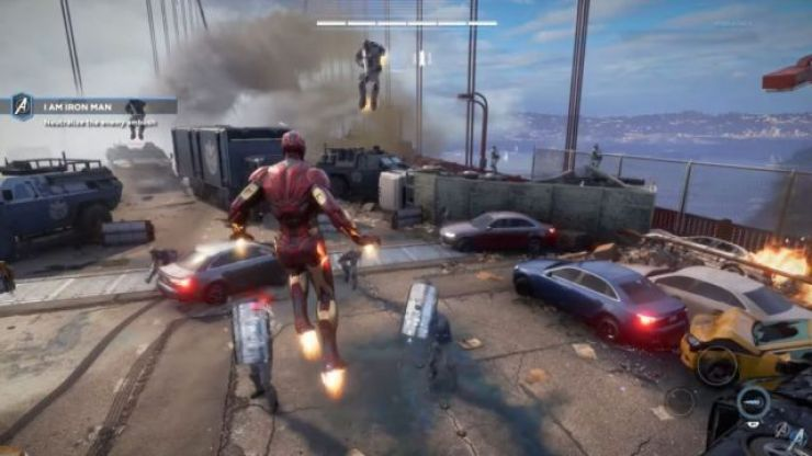 Controversy surrounds new Avengers video game