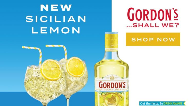COMPETITION: Gordons New Sicilian Lemon Distilled Gin is bringing a slice of Sicilian summer to you