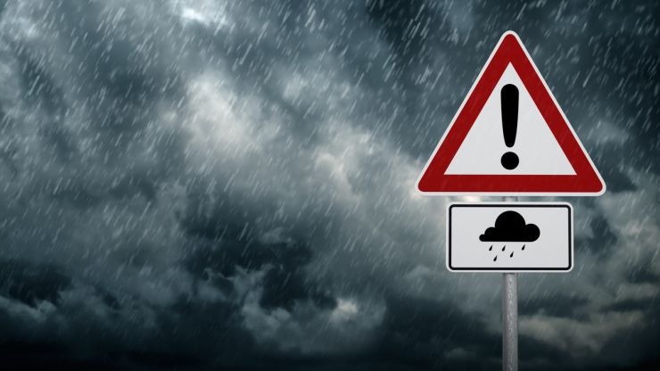 Status Yellow rain warning for potential flooding issued for Donegal