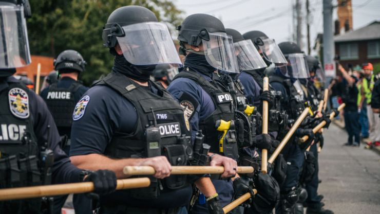 Two police officers shot during Breonna Taylor protests in Louisville