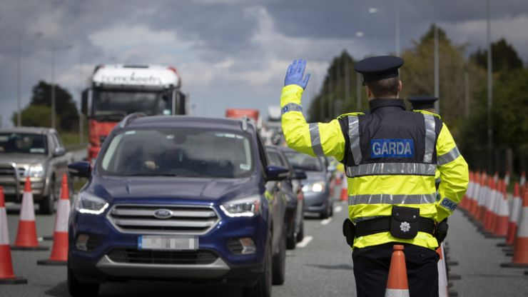 Gardaí to set up 132 large-scale checkpoints per day to ensure compliance with Level 3 restrictions