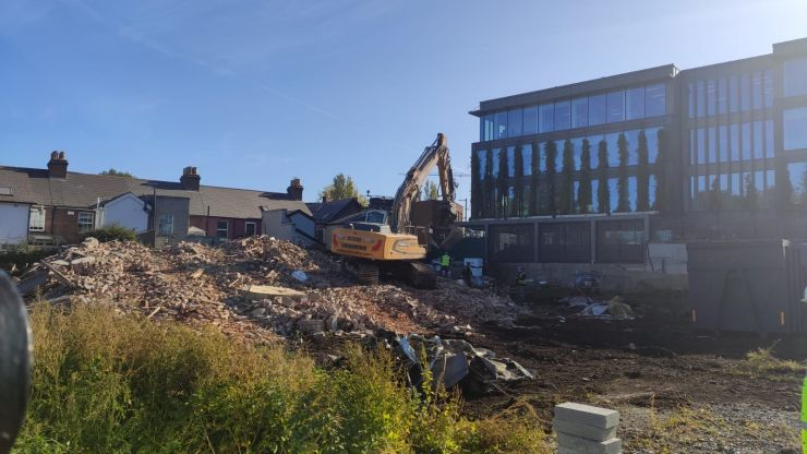 """Demolition of 1916 leader O'Rahilly house an """"act of corporate vandalism"""""""